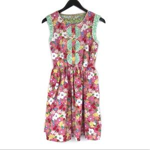 Matilda Jane Leah Floral Print Knee Length Dress